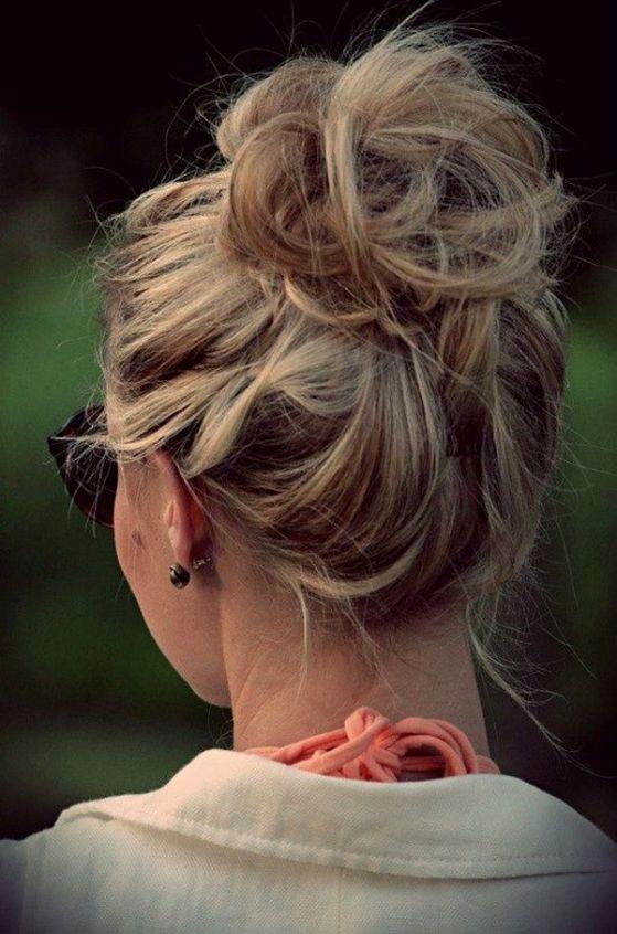 Peinados recogidos f ciles para todo tipo de cabello - Peinados faciles recogidos paso a paso ...