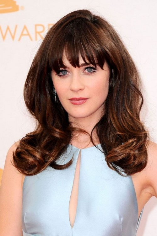 Zooey-Deschanel flequillo