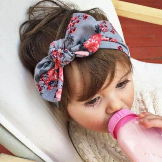 accesorio pelo niña de meses