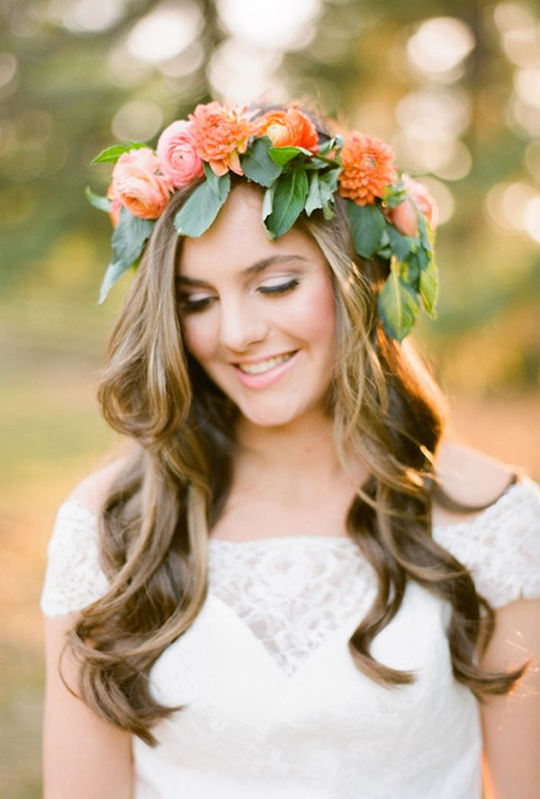 hermoso pelo largo para matrimonio