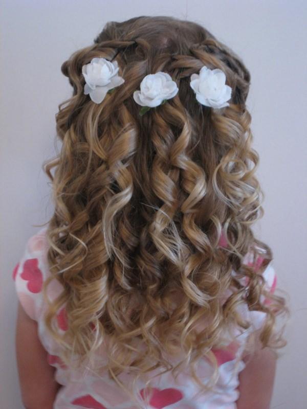 lindo peinado para las nias