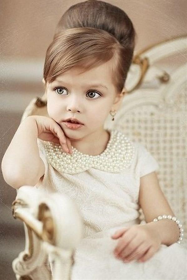 peinado elegante para niñas