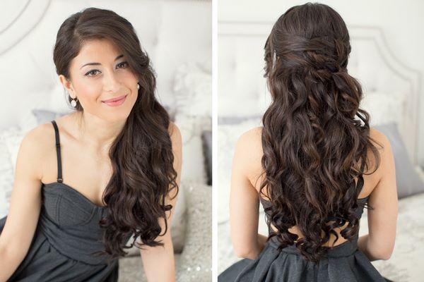 27 Gorgeous Wedding Hairstyles For Long Hair In 2019: Hermosos Peinados De Noche Que Te Harán Lucir Elegante