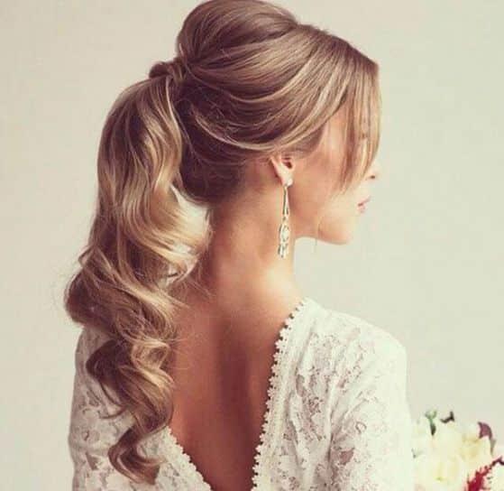 peinado sencillo y elegante