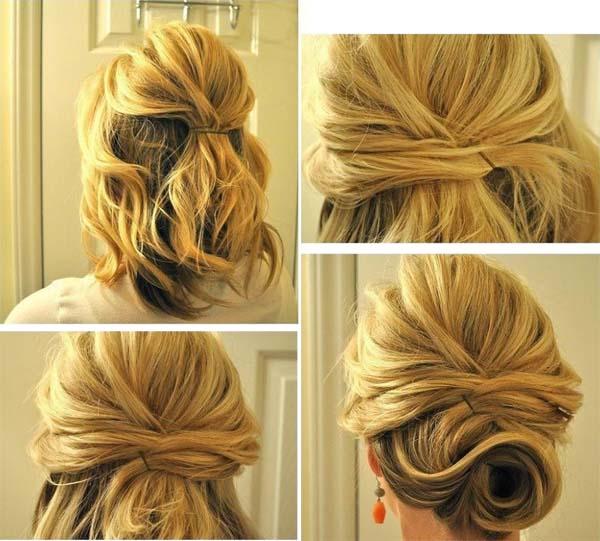peinados cabello corto tutorial