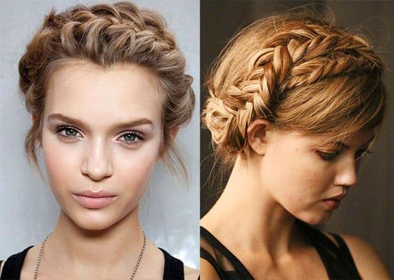 17 peinados con trenzas f ciles tutoriales paso a paso - Fotos peinados de moda ...