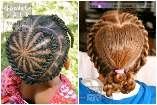 peinados de corazon para el colegio