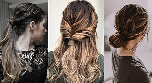 los peinados fciles son perfectos para ti si eres de las chicas que siempre andan apuradas para cualquier evento porque no puedes lidiar con tantas cosas