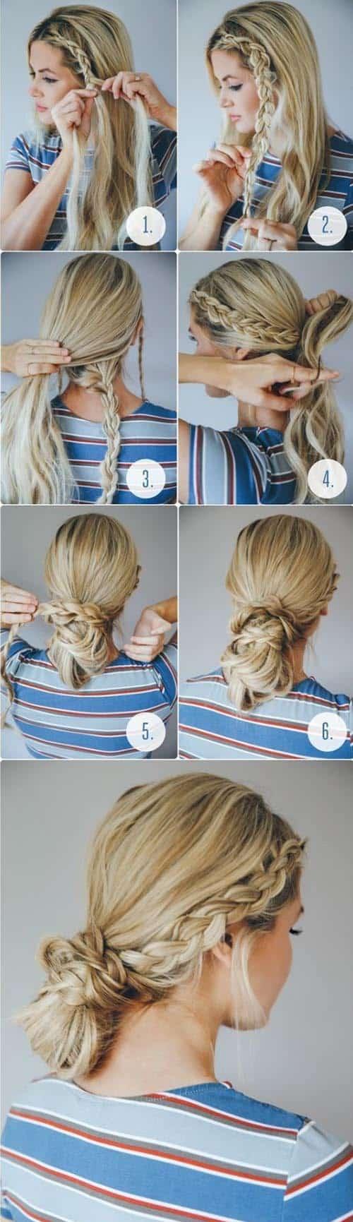 3 peinados sencillos para el trabajo o el colegio