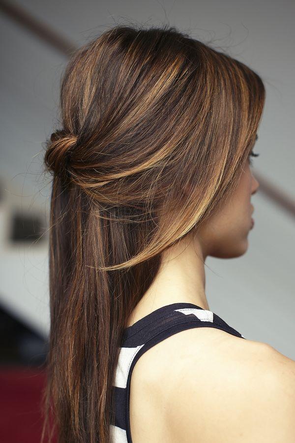 peinados faciles para la noche