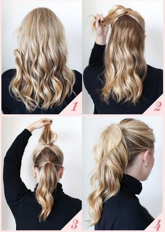 sencillo peinados para fiesta en 4 pasos - Peinados Fiesta