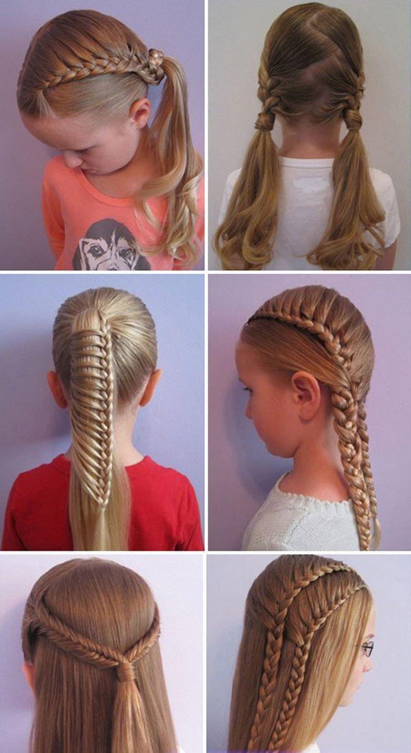 peinados para el colegio tipos de trenzas para niñas