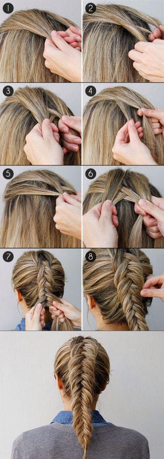 17 peinados con trenzas f ciles tutoriales paso a paso - Peinados paso a paso trenzas ...