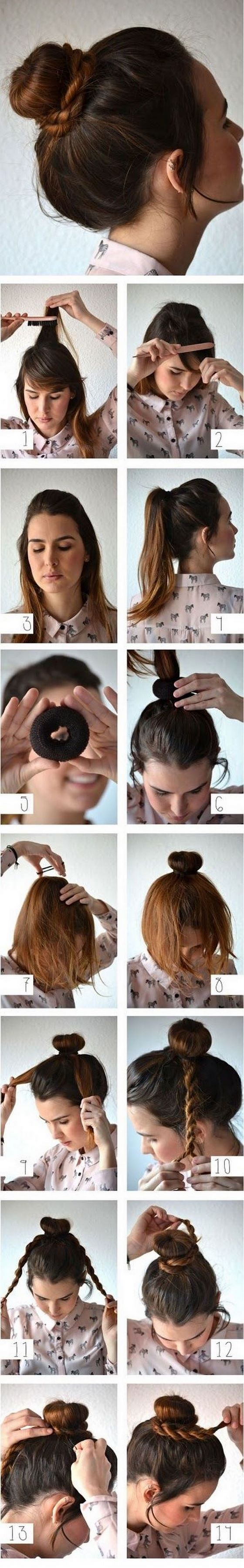 30 peinados de tendencia y tutoriales Belleza