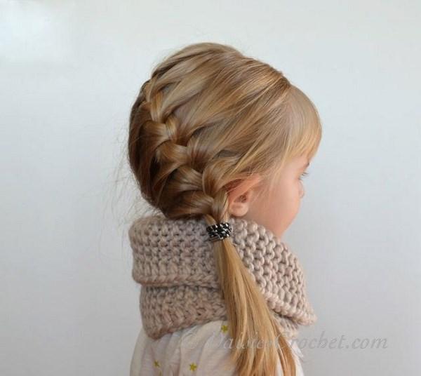 trenzas para chicas pequeñas