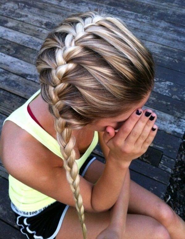 trenzas peinado para ir al colegio
