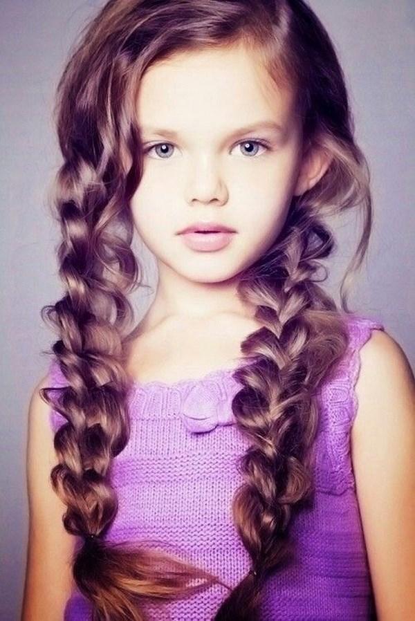 trenzas pelo largo para niñas