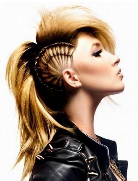 cabello en trenzas