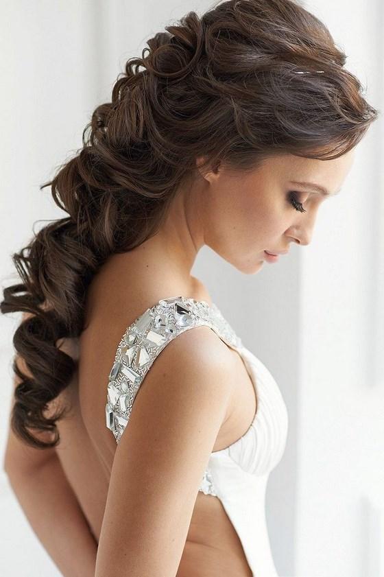 Peinados Elegantes Especiales Para Ocasiones Especiales - Peinados-de-novia-elegantes
