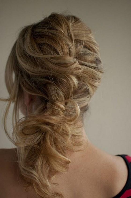 cabello suelto para ocasiones especiales