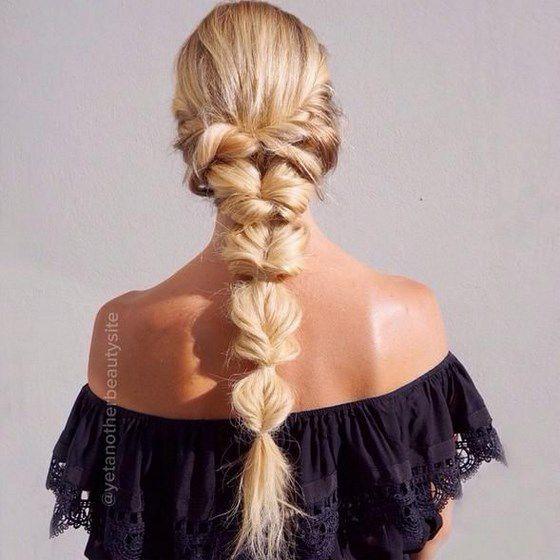 genial trenzado de pelo