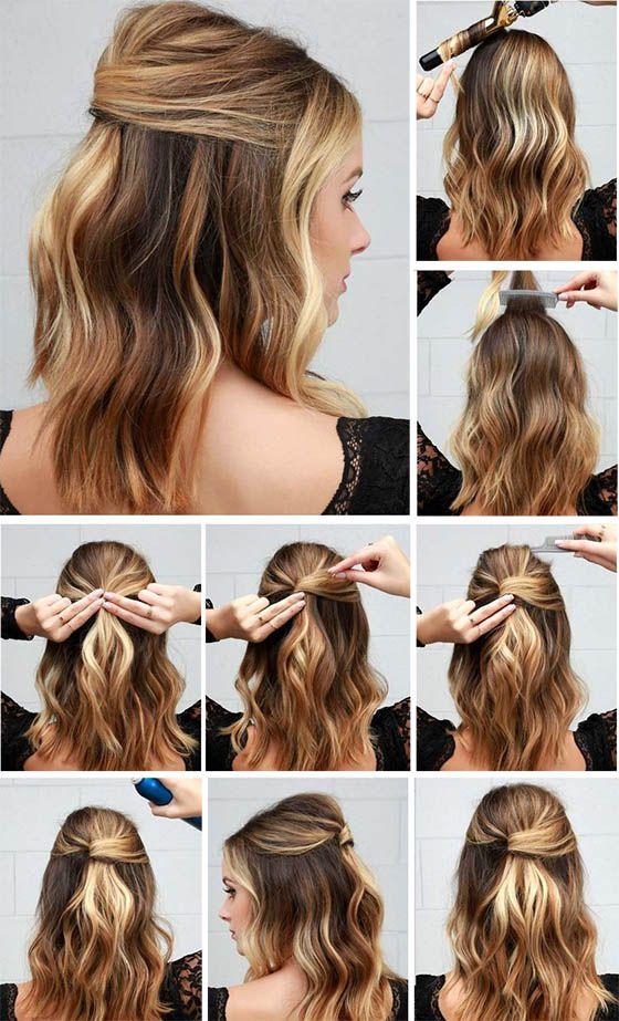 Peinados De Fiestas Rapidos Sencillos Elegantes Tendencia
