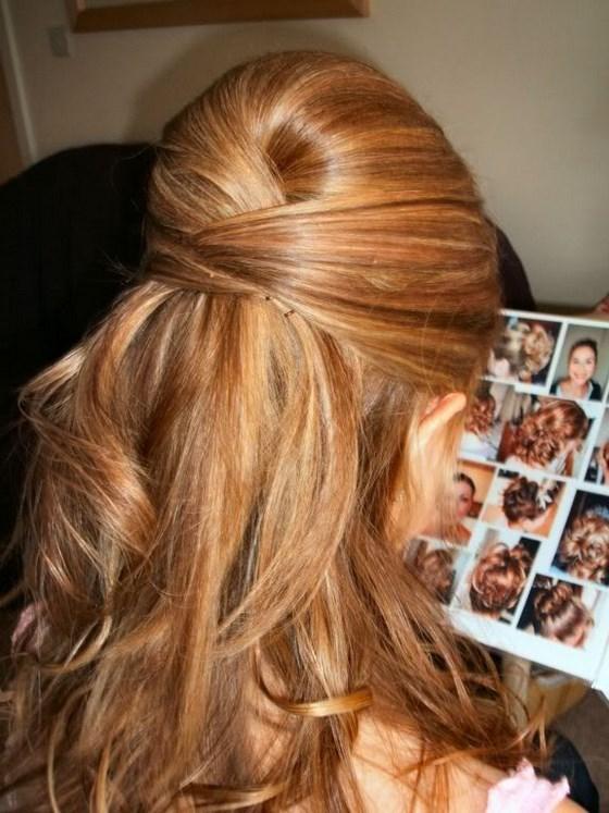 Peinados Semirecogidos Modelos Y Tutoriales Paso A