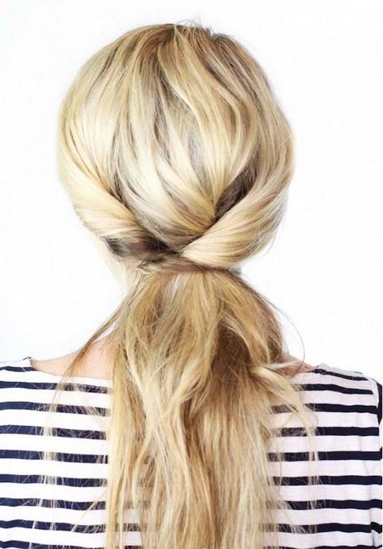 peinado para cabello casual