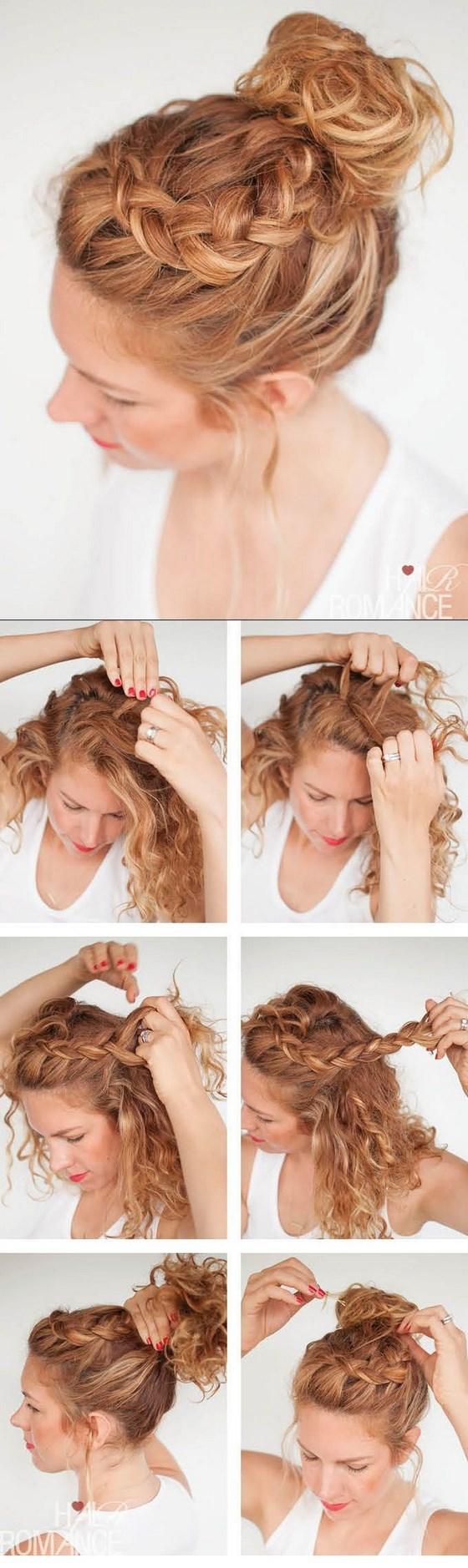 Peinados para cabello crespo porque nada es imposible - Como hacer peinado para boda ...