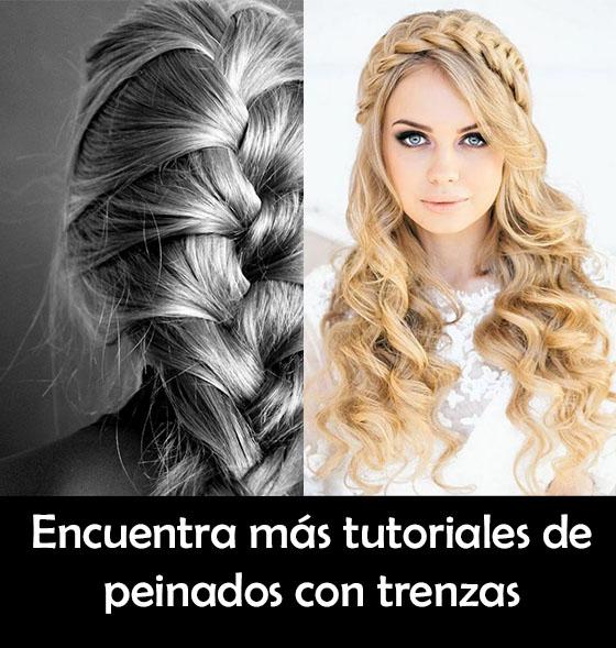 peinados trenzados largos
