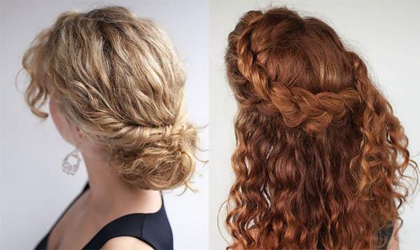 Hermosos Peinados Pelo Rizado Para Todos Los Dias