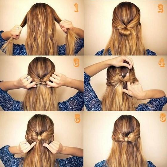 Pasos de peinados recogidos