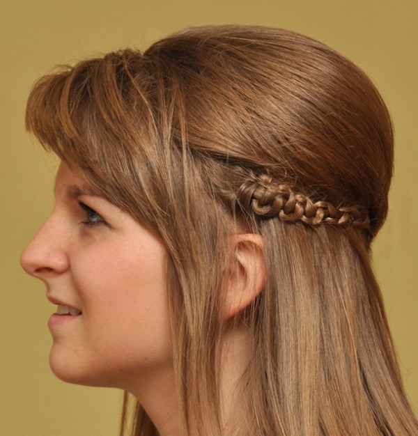peinado sencillo para el cabello