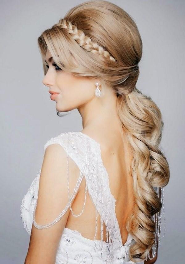 cabello para boda estilo griego