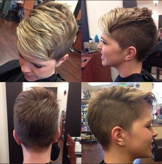 cabello corto rapado para jovenes