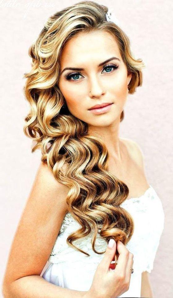 cabello ondulado romantico