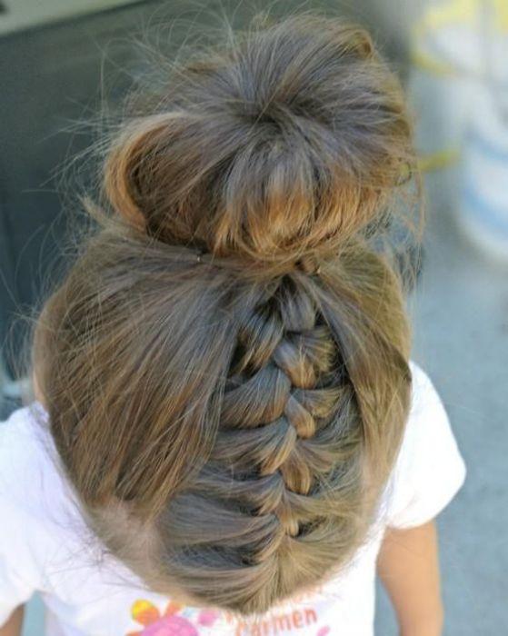 peinado juvenil recogido