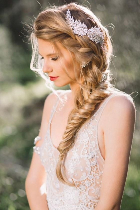 peinados elegantes para bodas