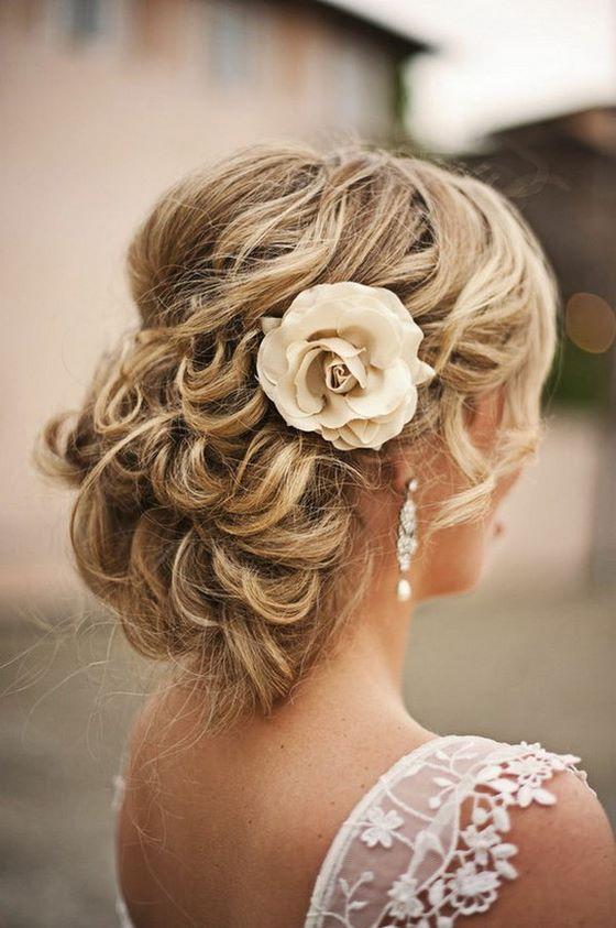 peinados recogidos para novia