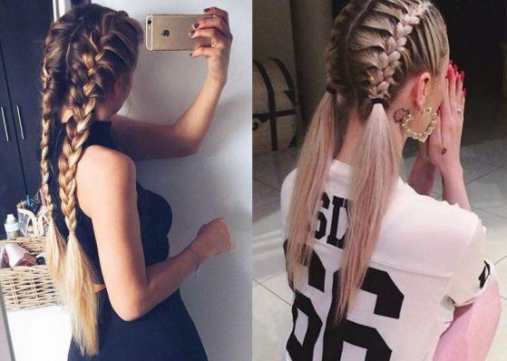 doble trenza peinado de moda cabello largo2