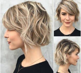 ¿Cortes de pelo corto? Lucir glamourosa si es posible.