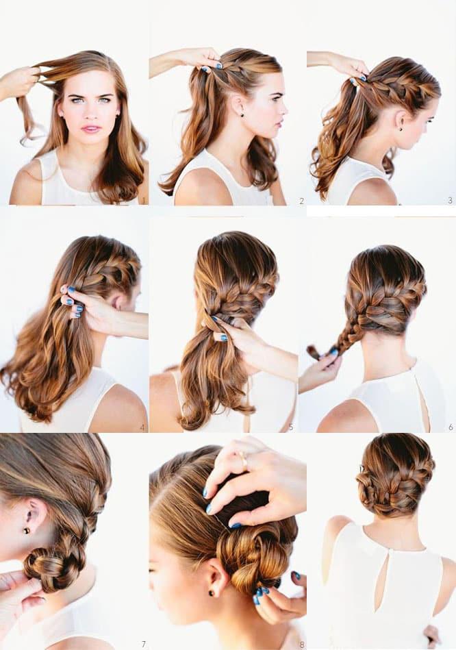 peinados-faciles-y-bonitos-para-novias-