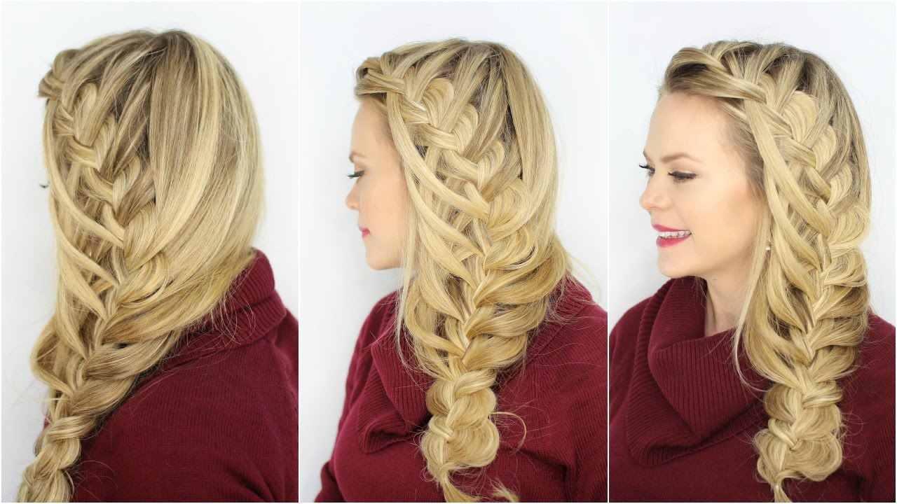 peinado trenza braid