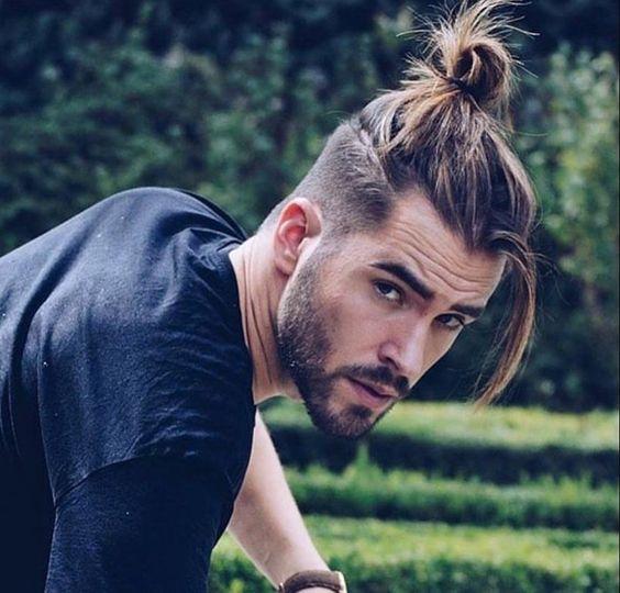 Cortes De Pelo Para Hombre Con Pelo Largo Arriba Ideas De Peinado