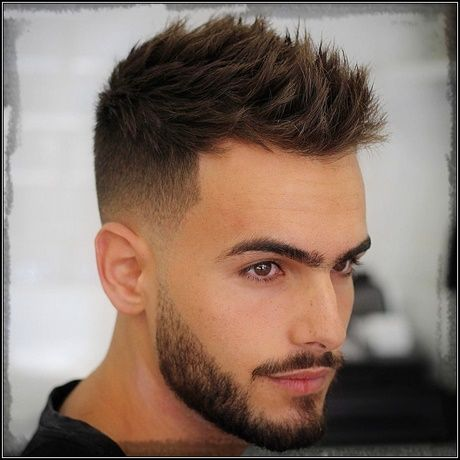 Spiky Corte Hombres (2)