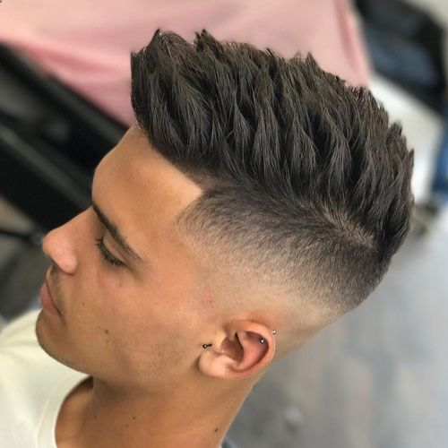 Spiky Corte Hombres (5)