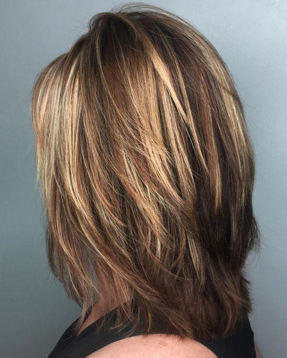 corte de pelo para mujer en capas
