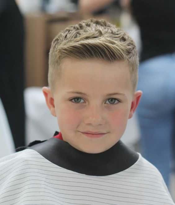 Corte de cabello para ninos formal