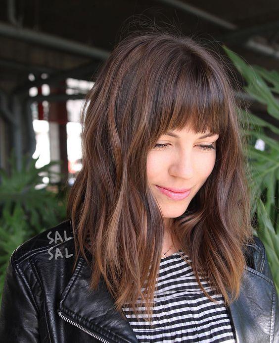 82 Imagenes Cortes De Pelo Con Flequillo Para Mujeres Descargar Peinados