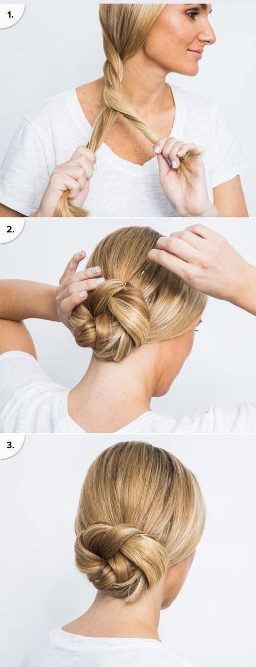 Peinado Recogido Para Hacer En Casa (3)